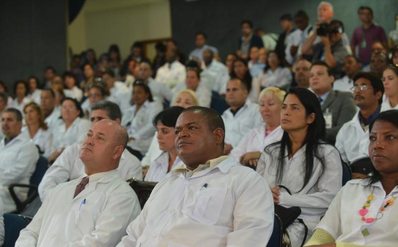 Brasília, 26/08/2013 - Profissionais estrangeiros do Mais Médicos participam do curso de preparação, com aulas sobre saúde pública brasileira e língua portuguesa