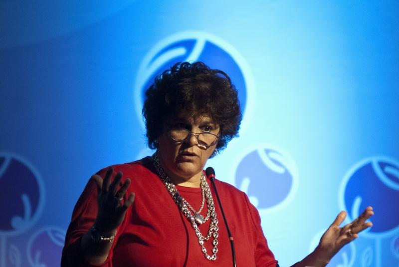São Paulo, 25/10/2012 - A ministra do Meio Ambiente, Izabella Teixeira, participa da Rede de Mulheres Brasileiras Líderes pela Sustentabilidade, em São Paulo. Foto de Marcelo Camargo/ABr