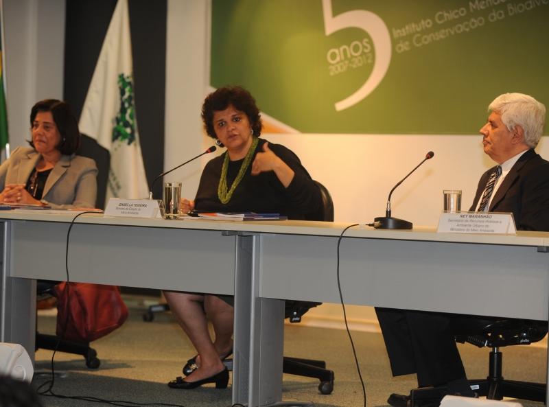 Brasília, 21/05/2013 - A ministra do Meio Ambiente, Izabella Teixeira