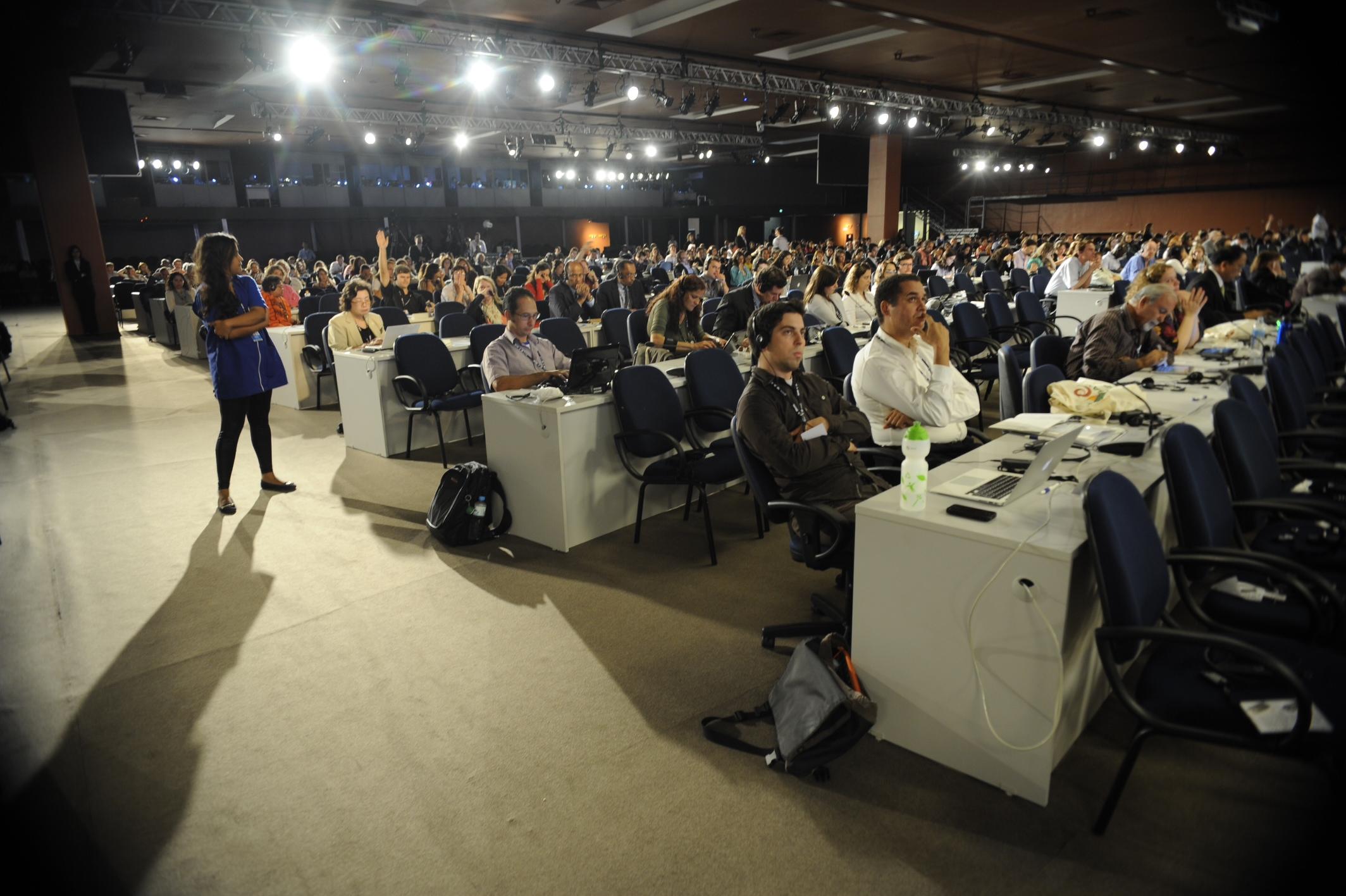Diálogos para o Desenvolvimento Sustentável, na Conferência das Nações Unidas sobre Desenvolvimento Sustentável, Rio+20. Foto de Fabio Rodrigues Pozzebom/ABr