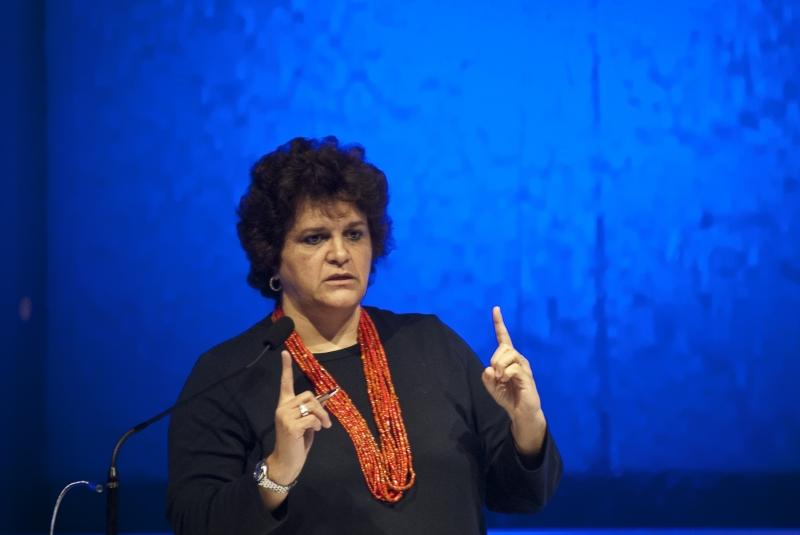 São Paulo, 07/11/2012 - A ministra do Meio Ambiente, Izabella Teixeira, participa do EXAME Fórum Sustentabilidade 2012. Foto de Marcelo Camargo/ABr