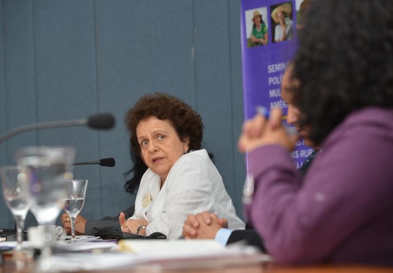 A ministra da Secretaria de Políticas para as Mulheres da Presidência da República, Eleonora Menicucci, participa da abertura do Seminário Internacional Políticas Públicas para Mulheres Rurais na América Latina e Caribe, no Instituto Rio Branco