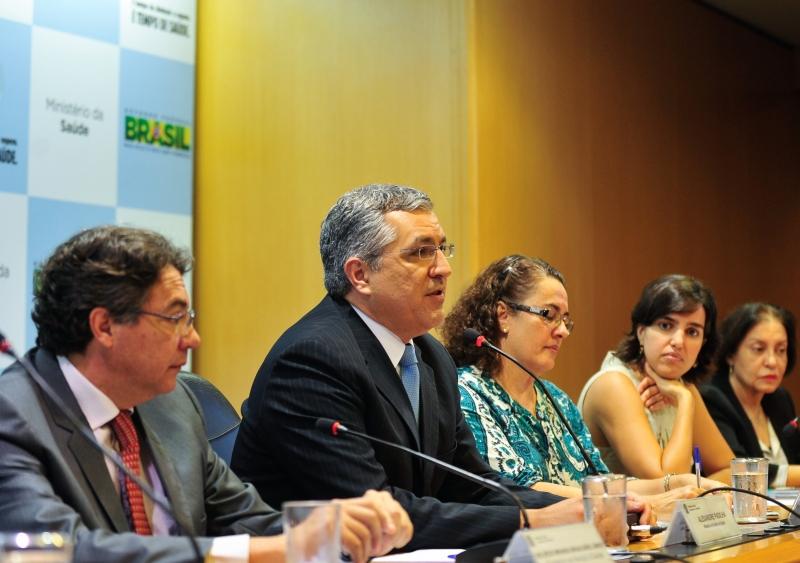 ministro da Saúde, Alexandre Padilha