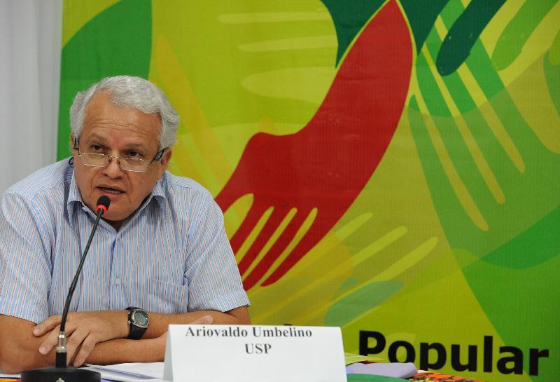 Ariovaldo Umbelino, da Universidade de São Paulo (USP)