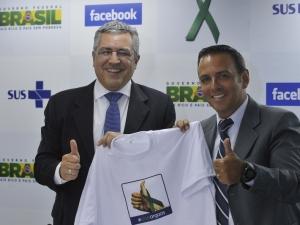 Ministério da Saúde anuncia parceria com Facebook para incentivar doação de órgãos no Brasil