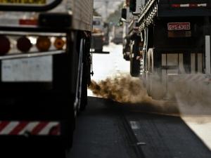 Poluição no trânsito