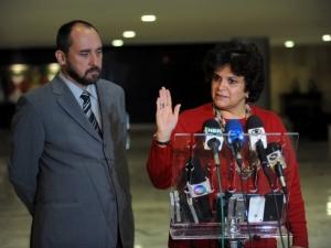 Izabella Teixeira e Luís Inácio Adams - Foto - Agência Brasil