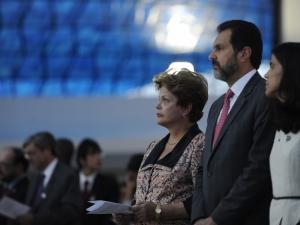 Dilma Rousseff participa de celebração ecumênica - Foto Agência Brasil