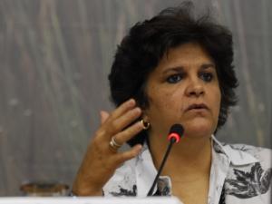 Ministra Izabella Teixeira