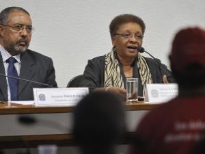 Ministra da Secretaria Nacional de Políticas de Promoção da Igualdade Racial (Seppir), Luiza Helena de Bairros