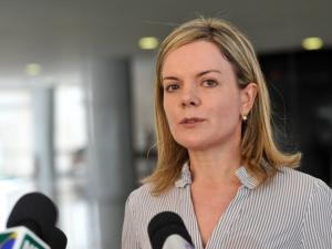 Ministra-chefe da Casa Civil, Gleisi Hoffmann