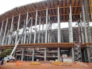 Balanço indica que 81% das obras da Copa estão concluídos ou em andamento