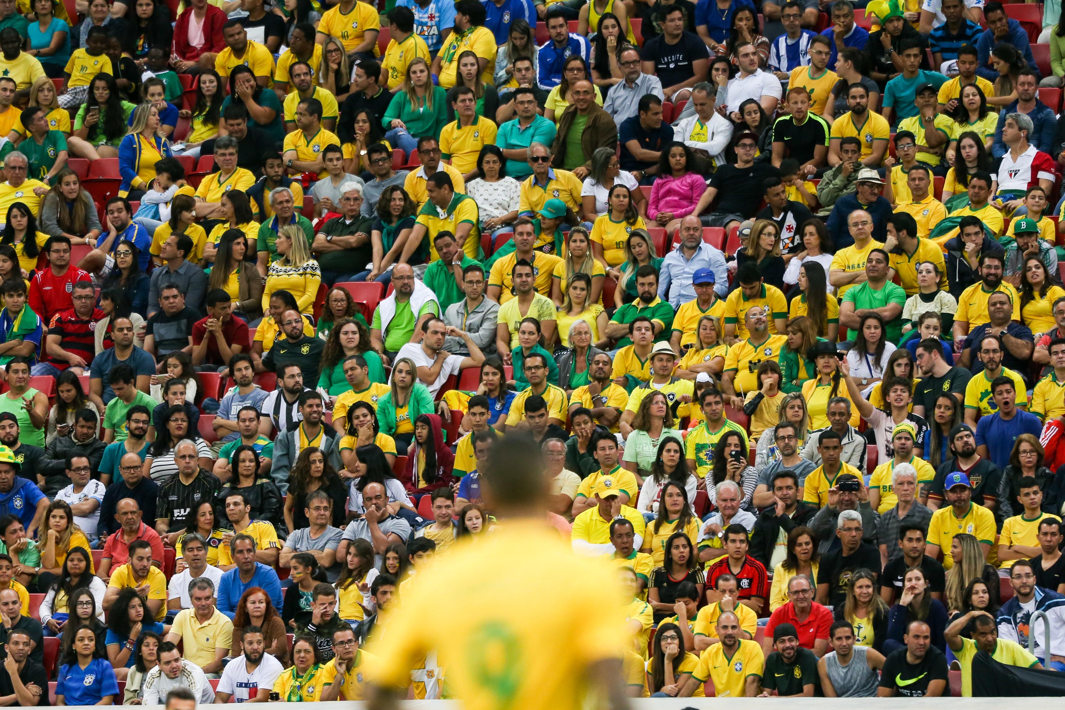 82c7ce1b22cbe Brasília - A Seleção Brasileira enfrenta o Iraque pela primeira fase do  futebol olímpico