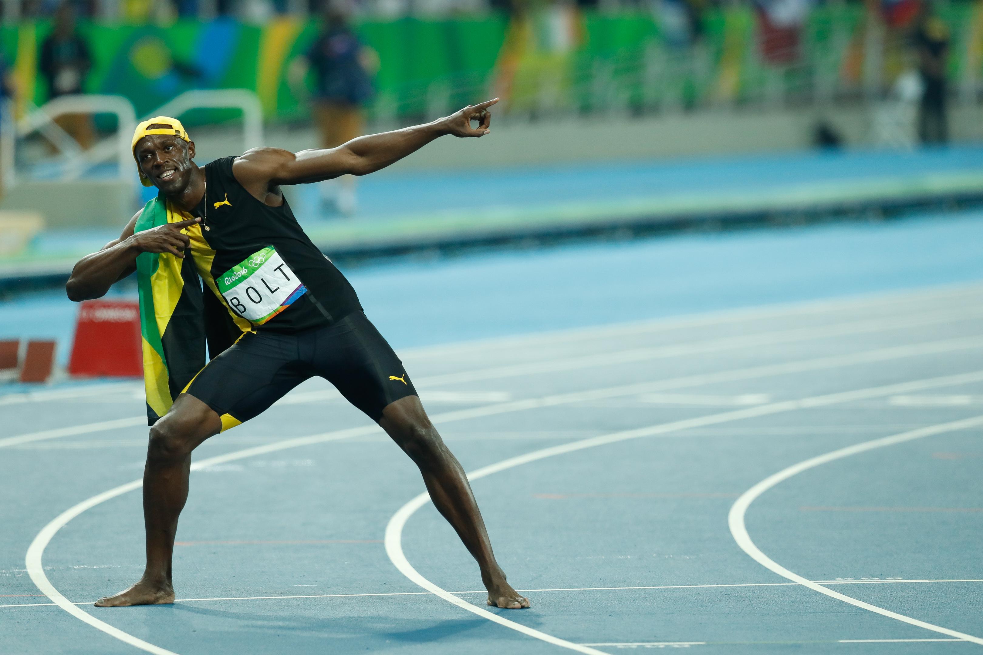 352509632 Usain Bolt  a história do tricampeonato olímpico nos 100m rasos ...