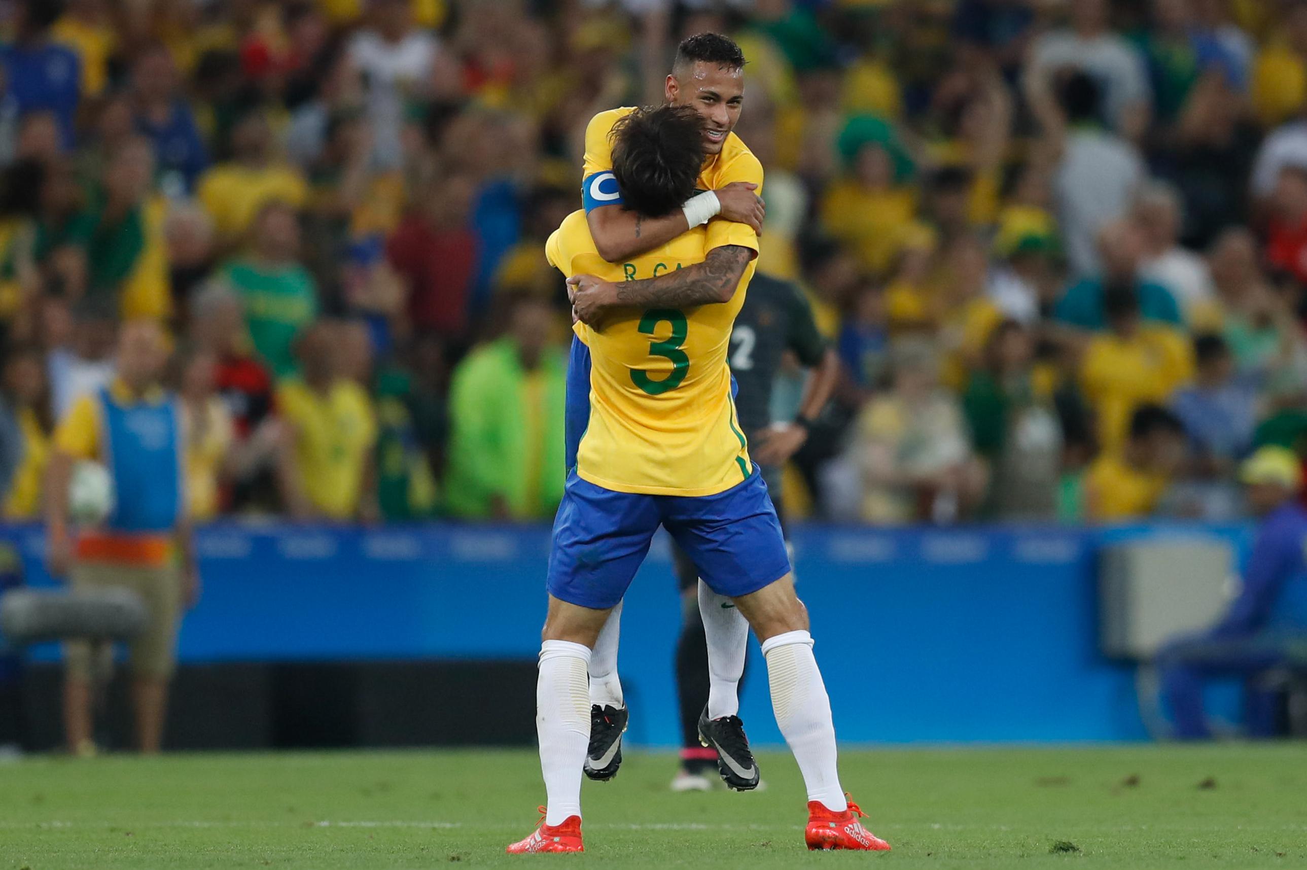 Rio de Janeiro - Brasil e Alemanha disputam a medalha de ouro no futebol  masculino ( ac3351b05f898