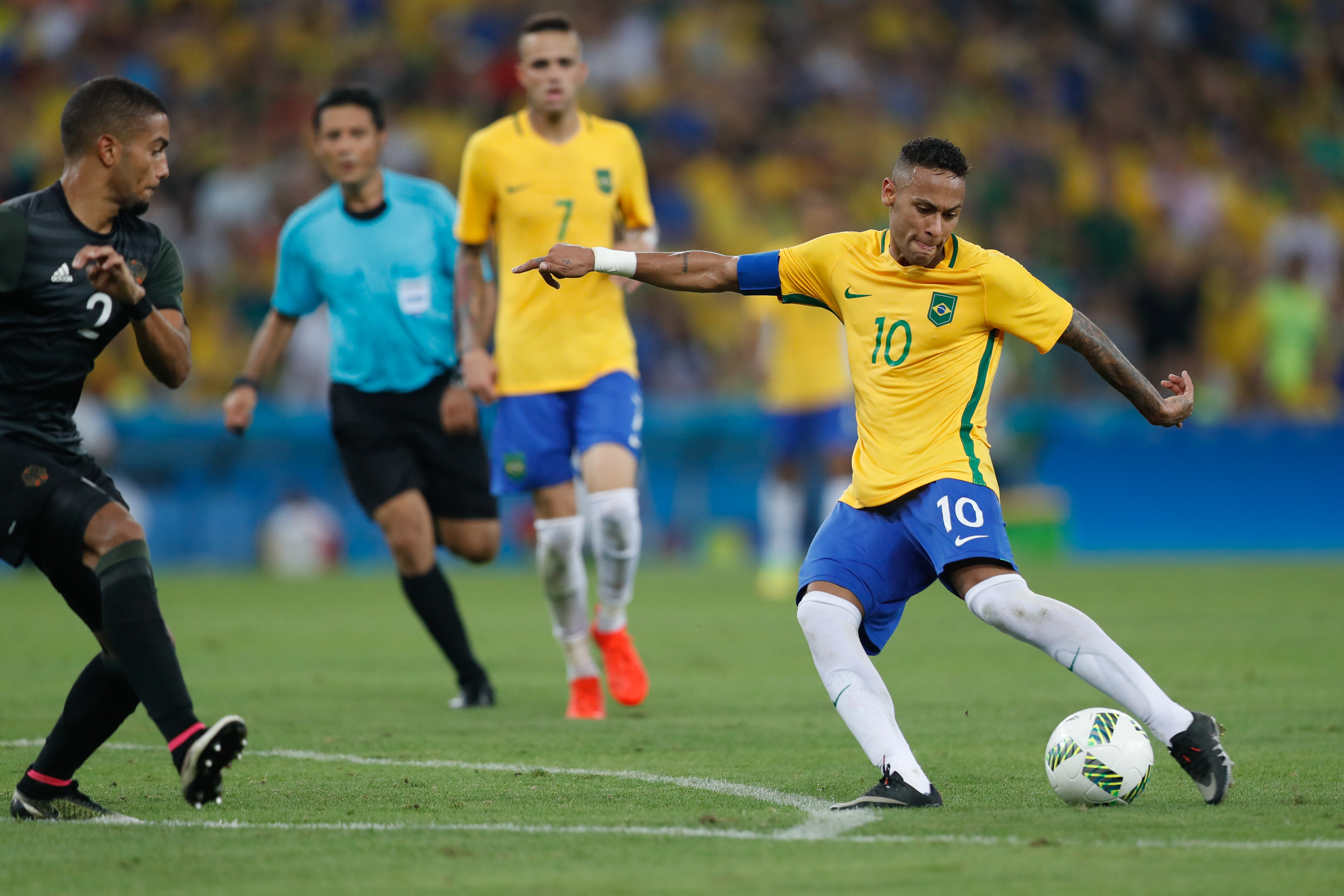 b23054bf153b9 Rio de Janeiro - A seleção brasileira de futebol enfrenta a Alemanha