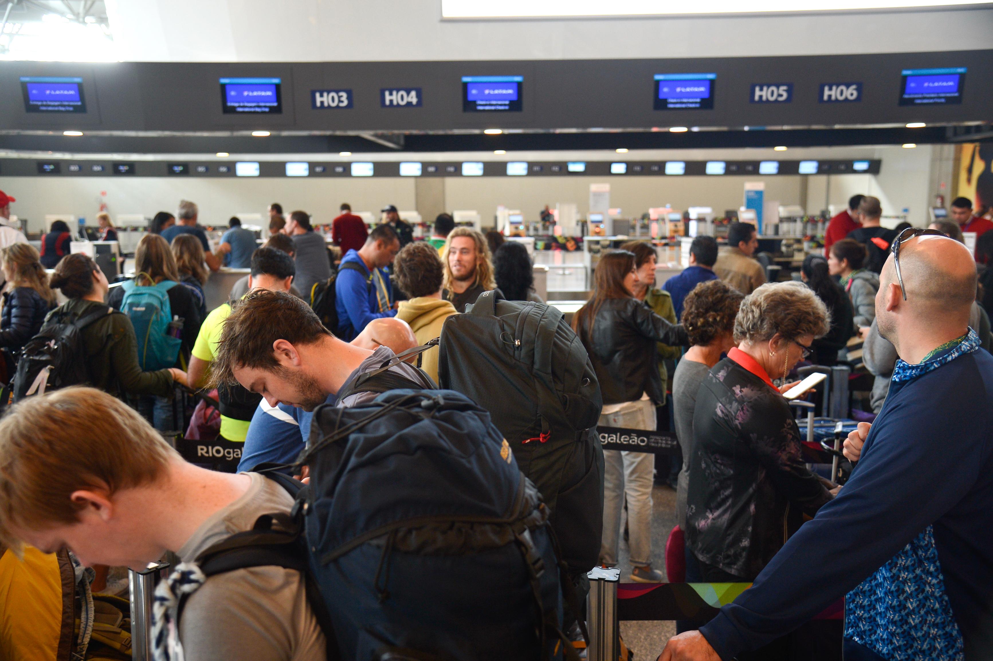 ec084addb5 Rio de Janeiro - O Aeroporto Internacional Tom Jobim/RioGaleão deverá  registrar o maior movimento