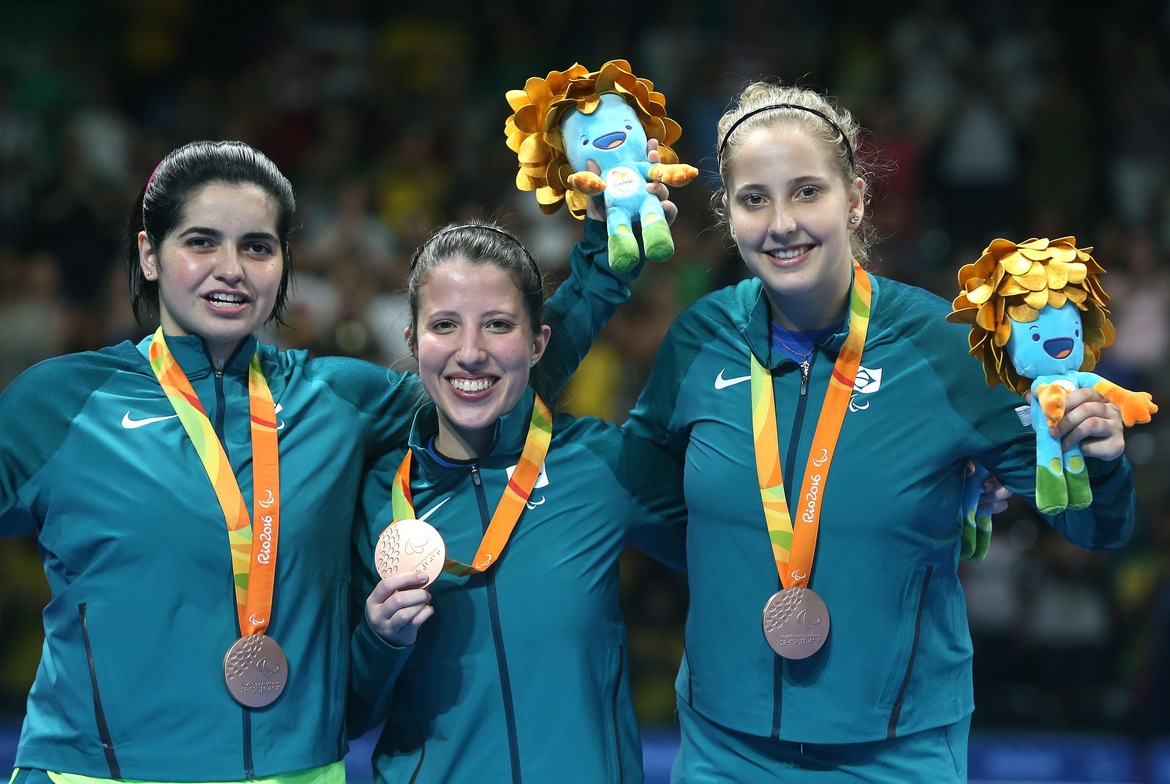 8a4e8a9e99dc5 Brasileiras conquistam bronze por equipes no tênis de mesa ...