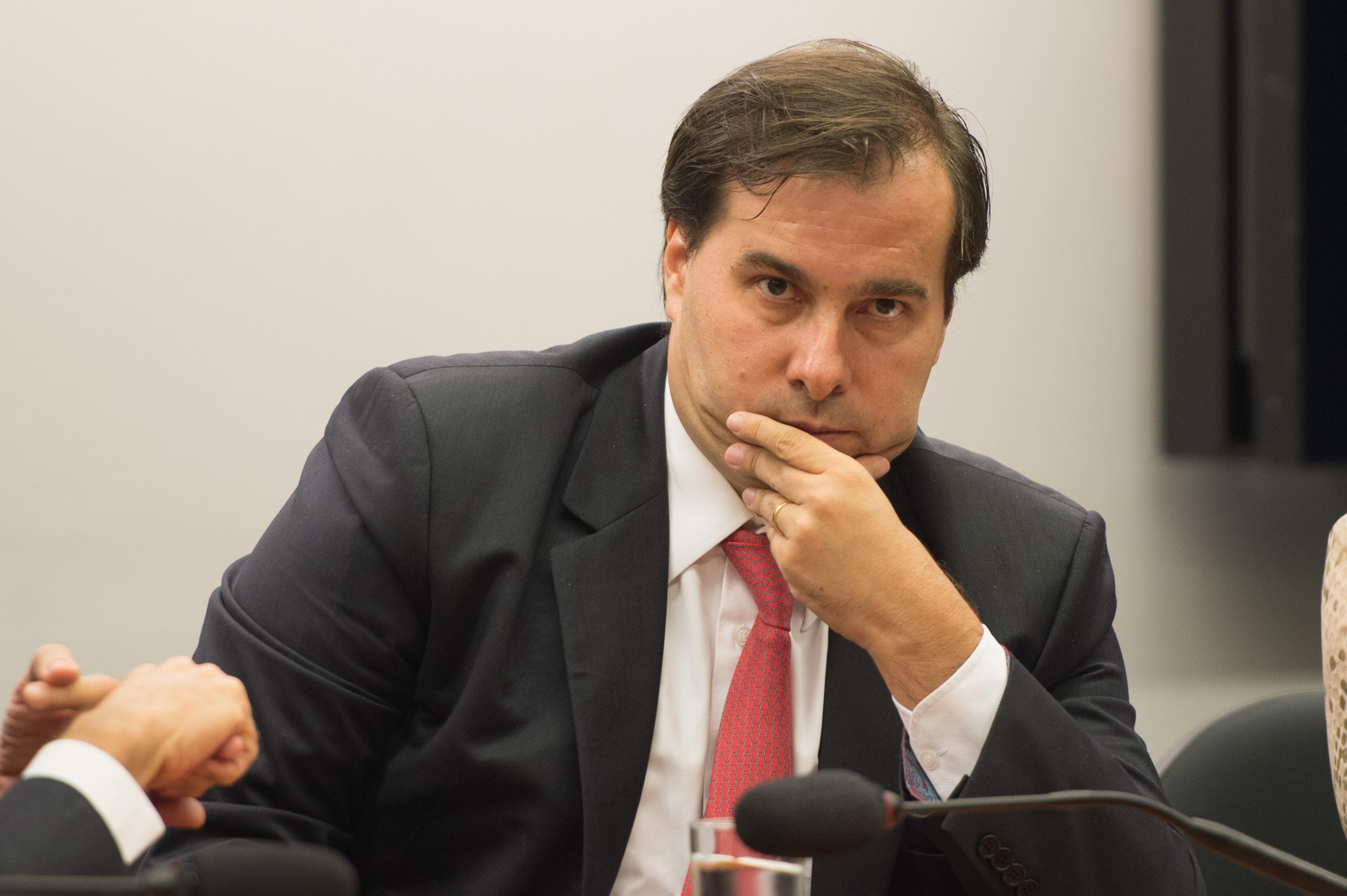 Presidente da Câmara: poderia ter dificultado a vida de Michel Temer