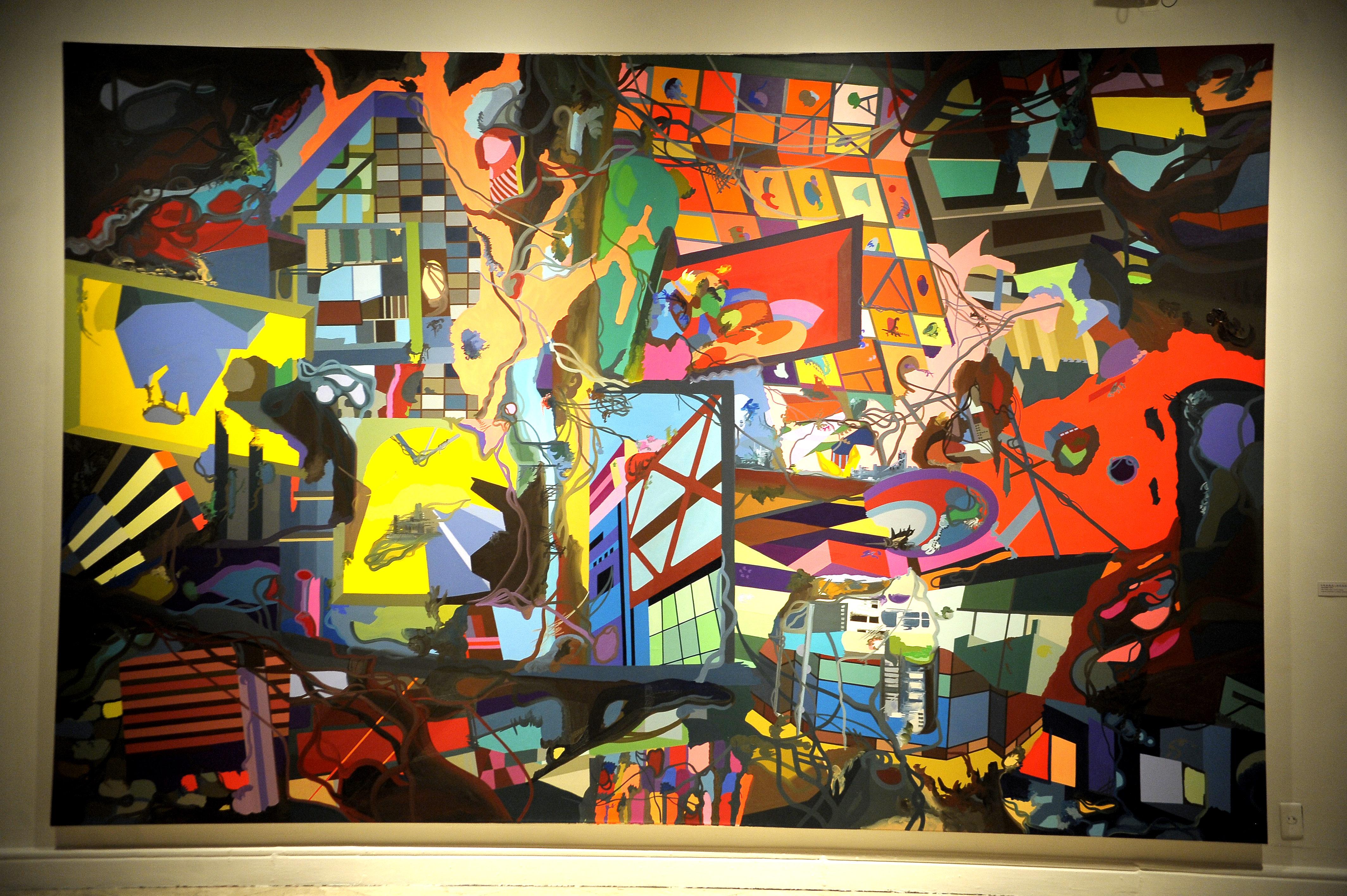Amado Exposição traz ao Rio a arte contemporânea da Berlim pós  YT86
