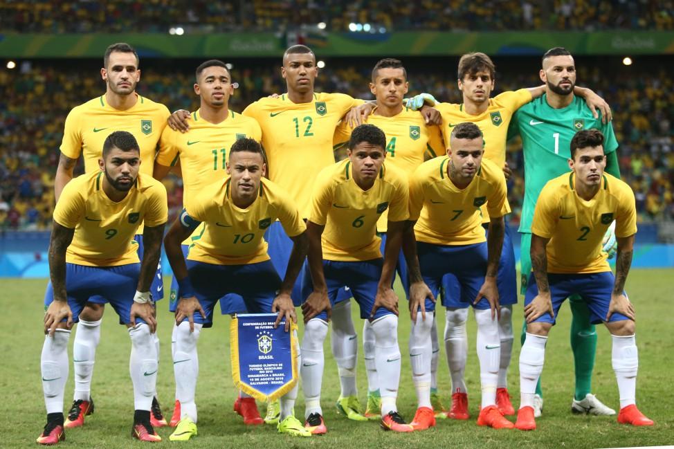 5ac59574b6 A seleção brasileira conquista ouro olímpico com vitória sobre a Alemanha  no Maracanã. Neymar abriu