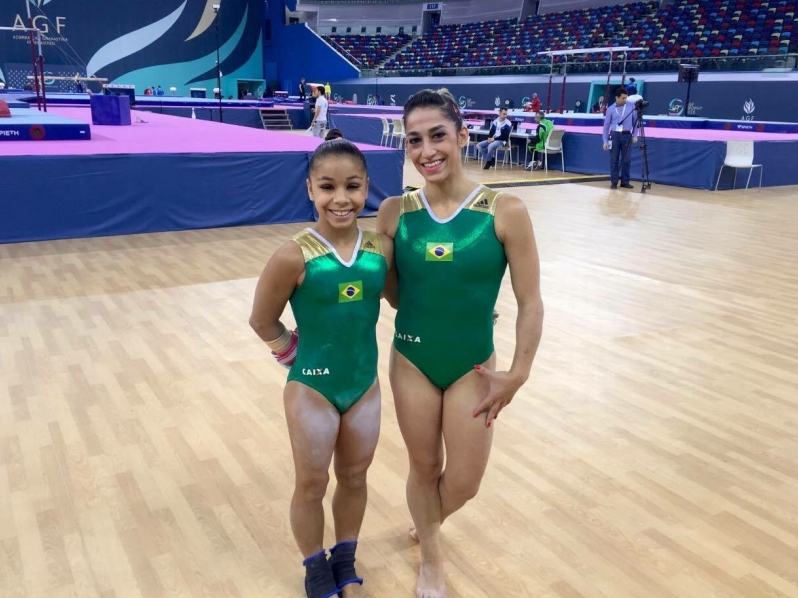 ginástica artística do brasil ganha 2 ouros na copa do mundo do