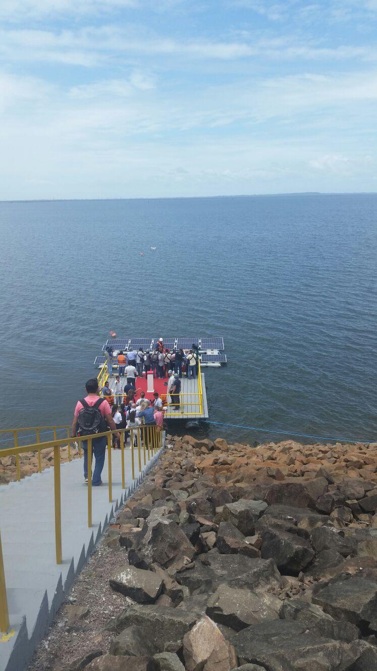 Conhecido Brasil inaugura primeira usina solar flutuante do mundo em lago de  GE97