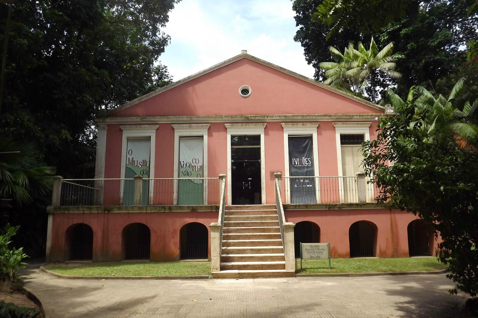 Resultado de imagem para imagens do museu emilio goeldi