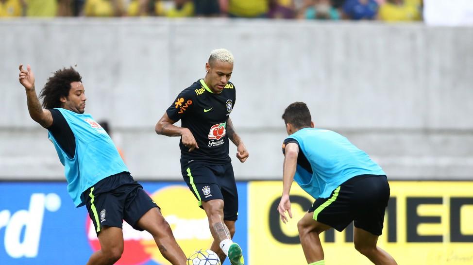599305b408 Treino aberto da seleção brasileira de futebol em Manaus (Divulgação CBF)